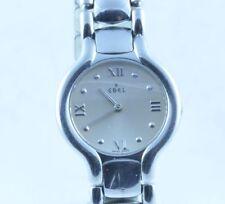Ebel beluga señora reloj Quartz acero/acero Medium 28mm original cinta de acero 9157421