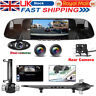 3 Lens HD 1080P Dash Cam Car Rear View Mirror DVR Inside Camera Security Anytek