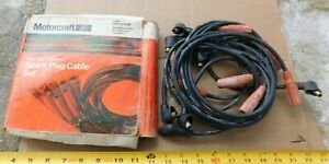 NOS MOTORCRAFT 8-CYL IGNITION WIRE SET 1968-69 FORD CARS 351 289 302 MERCURY