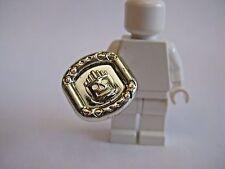 Lego SUN DISK Chrome Gold Accessory for Minifigures -Rare- 5986 Adventurers