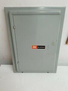 Murray breaker panel door 120/240V  16 space panel. Used Model LC116DS or DF