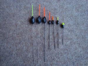 3 x Sensas CCX  pole fishing floats