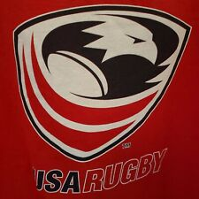 USA Rugby Tank Top - Men's Sz L - 100% Cotton