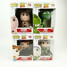 20th Anniversary Toy Story Pop Vinyl Set Woody #168 Buzz #169 Hamm #170 Rex #171