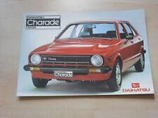 54459) Daihatsu Charade Prospekt 198?