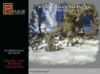 PEGASUS WW2 Russian Infantry/Greatcoats 1/72 Scale Unpainted Figures (PG7271)