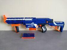 Pistolet Fusil Sniper NERF N-STRIKE RETALIATOR Bleu 65cm + 10 Fléchettes Neuves