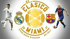2 El Classico Miami: Real Madrid vs Barcelona Tickets
