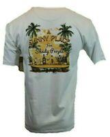 Hawaiian Mens T Shirt S M L XL XXL White Drinks Surf Funny Graphic Tee NEW
