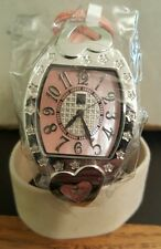 Ladies techno com by KC diamond heart watch