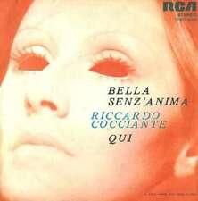 "Riccardo Cocciante Bella Senz'Anima / Qui 7"" Vinyl Schallplatte 25470"