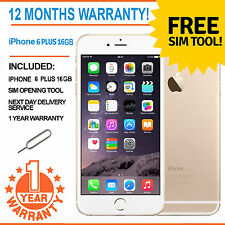 Apple iPhone 6 Plus 16GB Factory Unlocked - Champagne Gold
