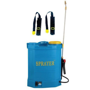 16L Rechargeable Backpack Pressure Sprayer - Portable Electric Garden Weed Pump