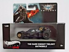 NEW The Dark Knight Batman Batmobile Tumbler Hot Wheels 1:50 Scale Black Car...
