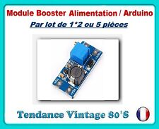 *** LOT DE 1*2 OU 5 MODULES BOOSTER DE TENSION DC DC 2/24V VERS 5/28V 2A ***