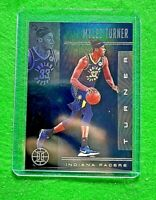 MYLES TURNER BLACK SAPPHIRE CARD INDIANA PACERS 2019-20 ILLUSIONS BASKETBALL