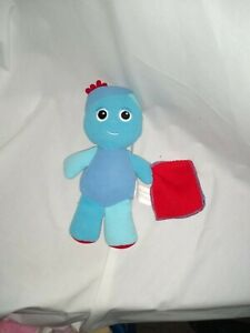 "9"" cute soft igglepiggle with noise red blanket in the night garden plush doll"