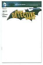 1)DETECTIVE COMICS #20(7/13)BLANK VARIANTCVR.(NEW 52/BATMAN/PENGUIN)(CGC IT)9.8!