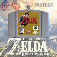 The Legend of Zelda Ocarina of Time Video Game For Nintendo 64 N64 US