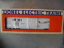 Lionel O Gauge 9486 I Love Michigan Door Box Car MIB