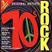 70's Rock CD 3 Disc Box Set by Various Artists (CD, Feb-2004, 3 Discs,