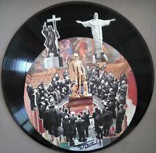 Collage sur vynile 33 tours - Viva la muerte
