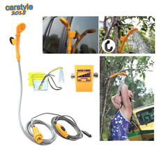 12 V Portable Extérieur Voiture électrique camping voyage se baigner 2 m Flexible de douche de tête et