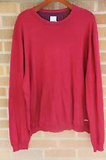 NWOT~Musto~Cotton/Cashmere Crewneck Sweater~Wine Red~XXL~$190 *SOLD OUT ONLINE*