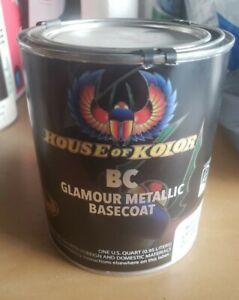 House of Kolor BC05 Lapis Blue Metallic Basecoat (Quart)