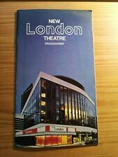 More details for grease / new london theatre playbill / richard gere / 1973 / rare and vgc