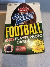 1990 Fleer Premiere Edition NFL Football Cards - 36 Unopened Packs!!