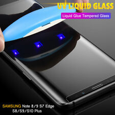 For One Plus 7 Pro UV Tempered Glass Film Protector 6D Curved Full Cover Screen