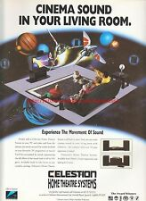 Celestion Home Theatre Systems 1993 Magazine Advert #7251