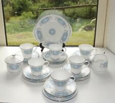 Blue British Aynsley Porcelain & China