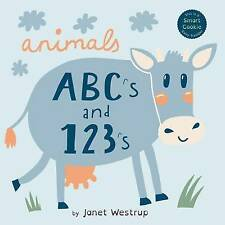 NEW Animals ABC and 123 by Janet Westrup