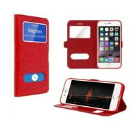 Etui Housse Coque Rouge Fenetre Protection Integrale iPhone XR