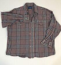 Wrangler Vntge Pearl Snap Red Plaid Long Sleeve Button Down Shirt SzL? (no Sz)