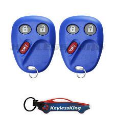 2 Replacement for Chevrolet Silverado 1500 2500 - 2003 2004 2005 06 Remote Blue
