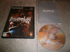 JEU PLAYSTATION 2 (PS2 JAP): ARC THE LAD SEIREI NO KOUKON - Complet TBE