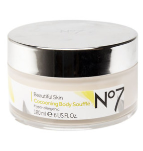 No7 Beautiful Skin Cocooning Body Soufflé 180ml - Hypo-Allergenic - NEW
