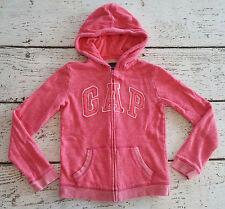 Gap Kids Girls Pink Logo Hoodie Large 10 Euc