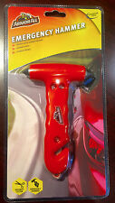 Armor All Emergency Window Hammer / Glass Breaker With Seatbelt Cutter, Auto Saf
