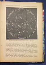 Henseling Sternbüchlein 1921 Astronomie Sternenbilder Wissen Sternenhimmel sf