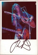 Thunder GUITARIST ROCK BAND LONDON ORIGINAL AUTOGRAPH AUTOGRAPH SIGNED (o-3163