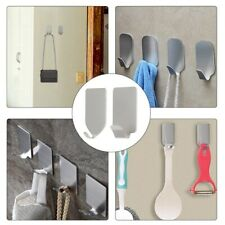Self Adhesive Home Kitchen Wall Door Stainless Steel Holder Hook Hanger 2020