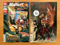 HARLEY QUINN #62 Guillem March Cover A + Frank Cho Variant Set DC 2019 NM