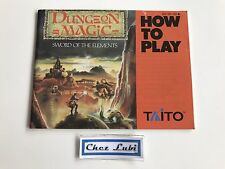 Notice - Dungeon Magic Sword Of The Elements - Nintendo NES - NTSC USA