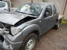 NISSAN NAVARA GEARBOX D40, MANUAL 4WD DIESEL 2.5, YD25, TURBO 6 SPEED 108805 Kms