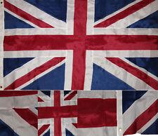 3x5 Embroidered UK United Kingdom Great Britain British Nylon Flag 3'x5' 2 Clips
