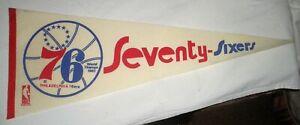 Philadelphia 76ers Seventy Sixers NBA Vintage 1969 Full Size World Champs 1967
